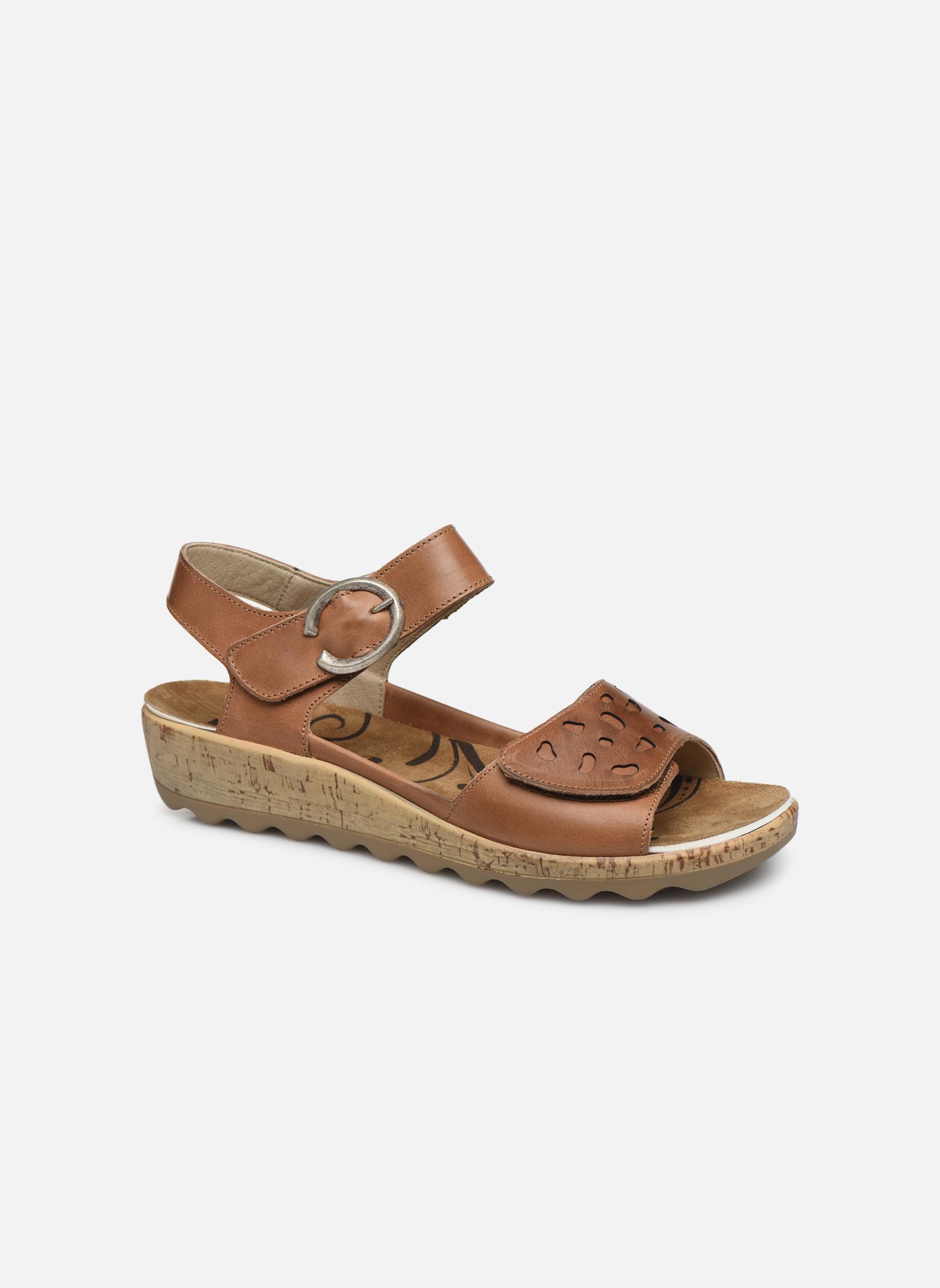 5e0e9c79d486 Romika Gina 02 (Marron) - Sandales et nu-pieds chez Sarenza (313802)  GH8HUA1Z - destrainspourtous.fr