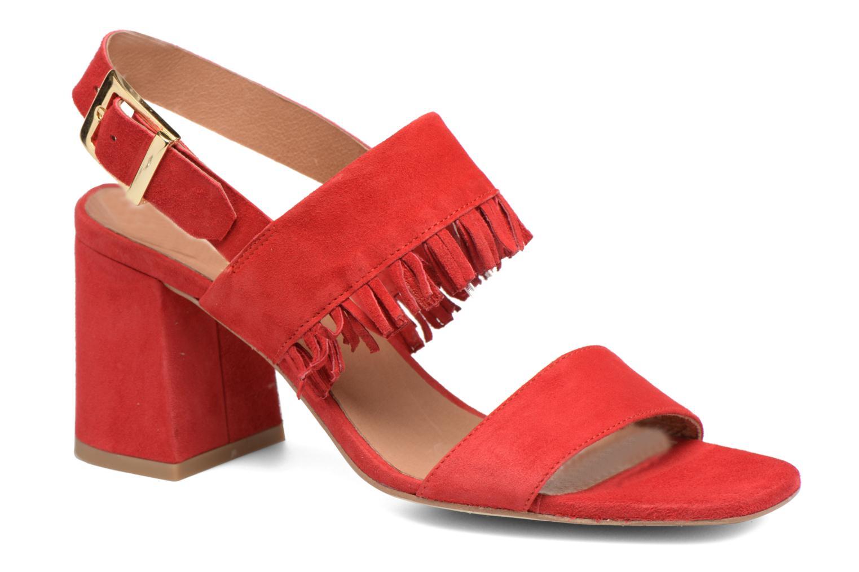 Sandales et nu-pieds Made by SARENZA Bombay Babes Sandales à Talons #1 Rouge vue droite