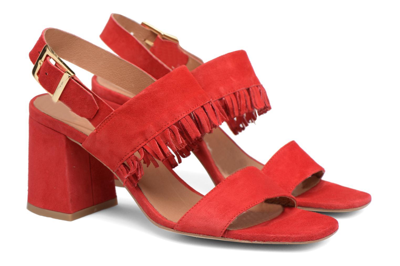 Sandales et nu-pieds Made by SARENZA Bombay Babes Sandales à Talons #1 Rouge vue derrière