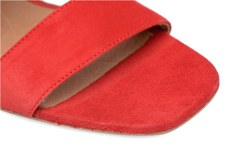 Sandales et nu-pieds Made by SARENZA Bombay Babes Sandales à Talons #1 Rouge vue gauche