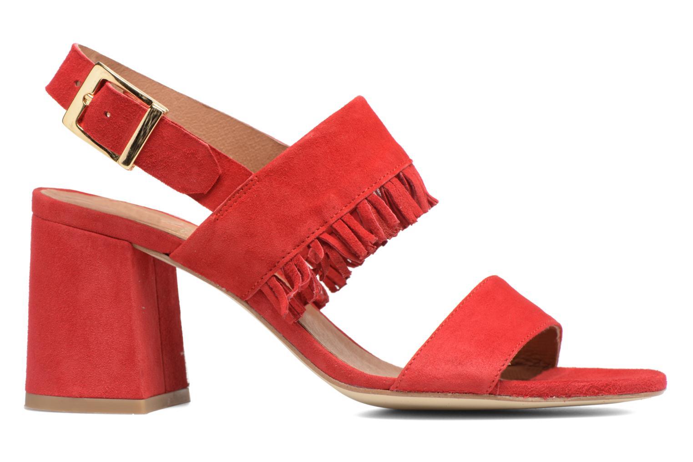 Sandales et nu-pieds Made by SARENZA Bombay Babes Sandales à Talons #1 Rouge vue détail/paire