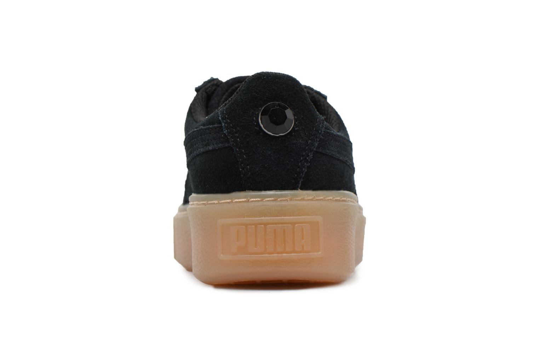 Suede Platform Jewel Puma Black/Puma Black