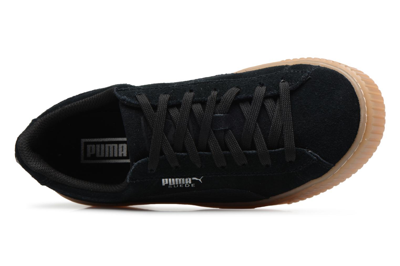 Baskets Puma Suede Platform Jewel Noir vue gauche