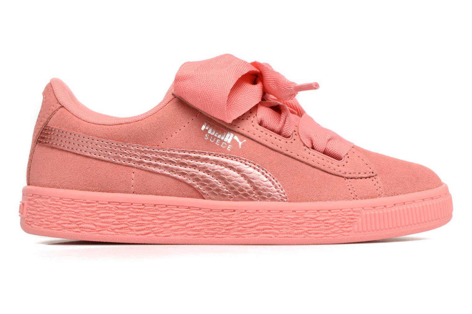 Suede Heart SNK Shell Pink/Shell Pink