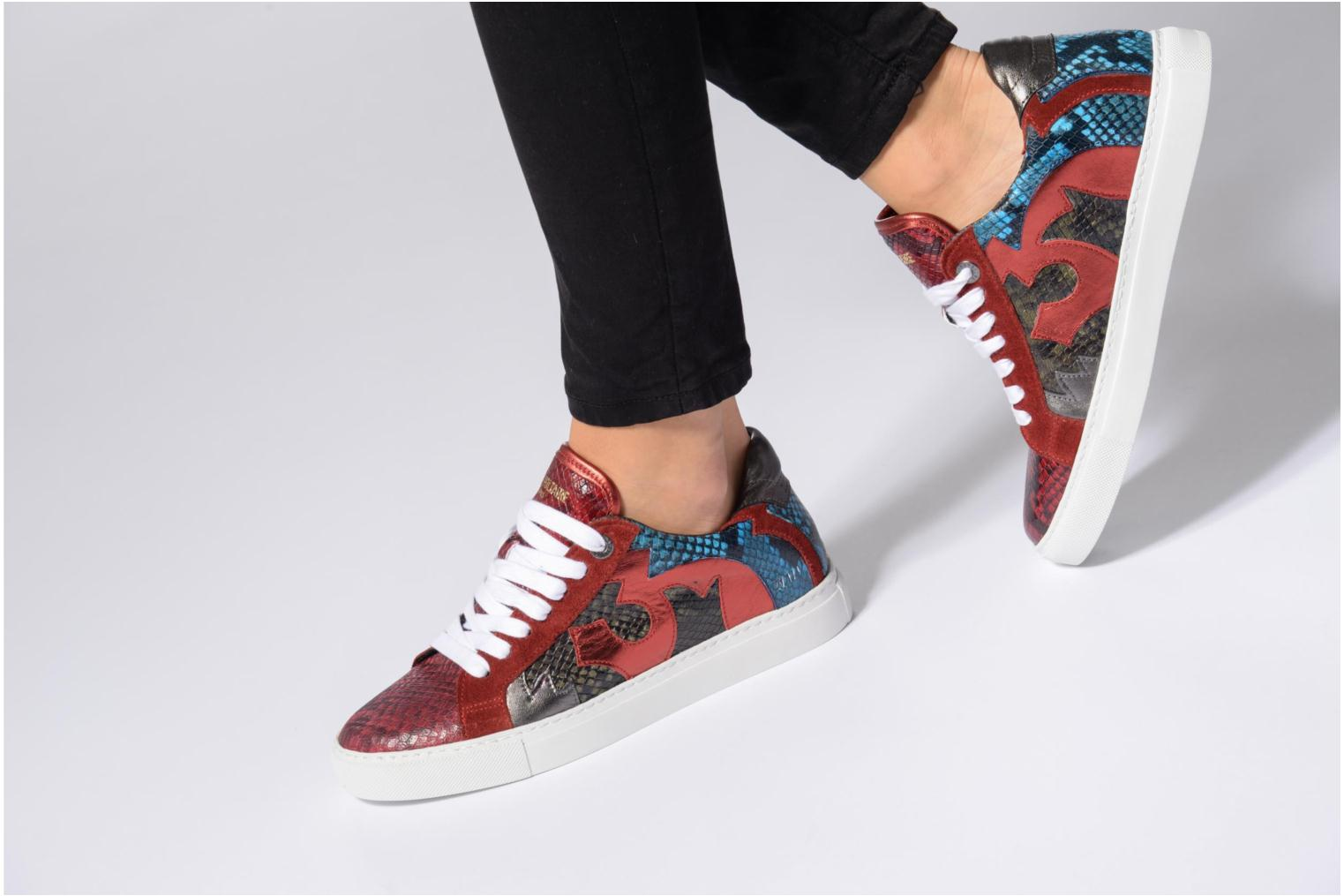 Trainers Zadig & Voltaire NASH TONE Red view from underneath / model view