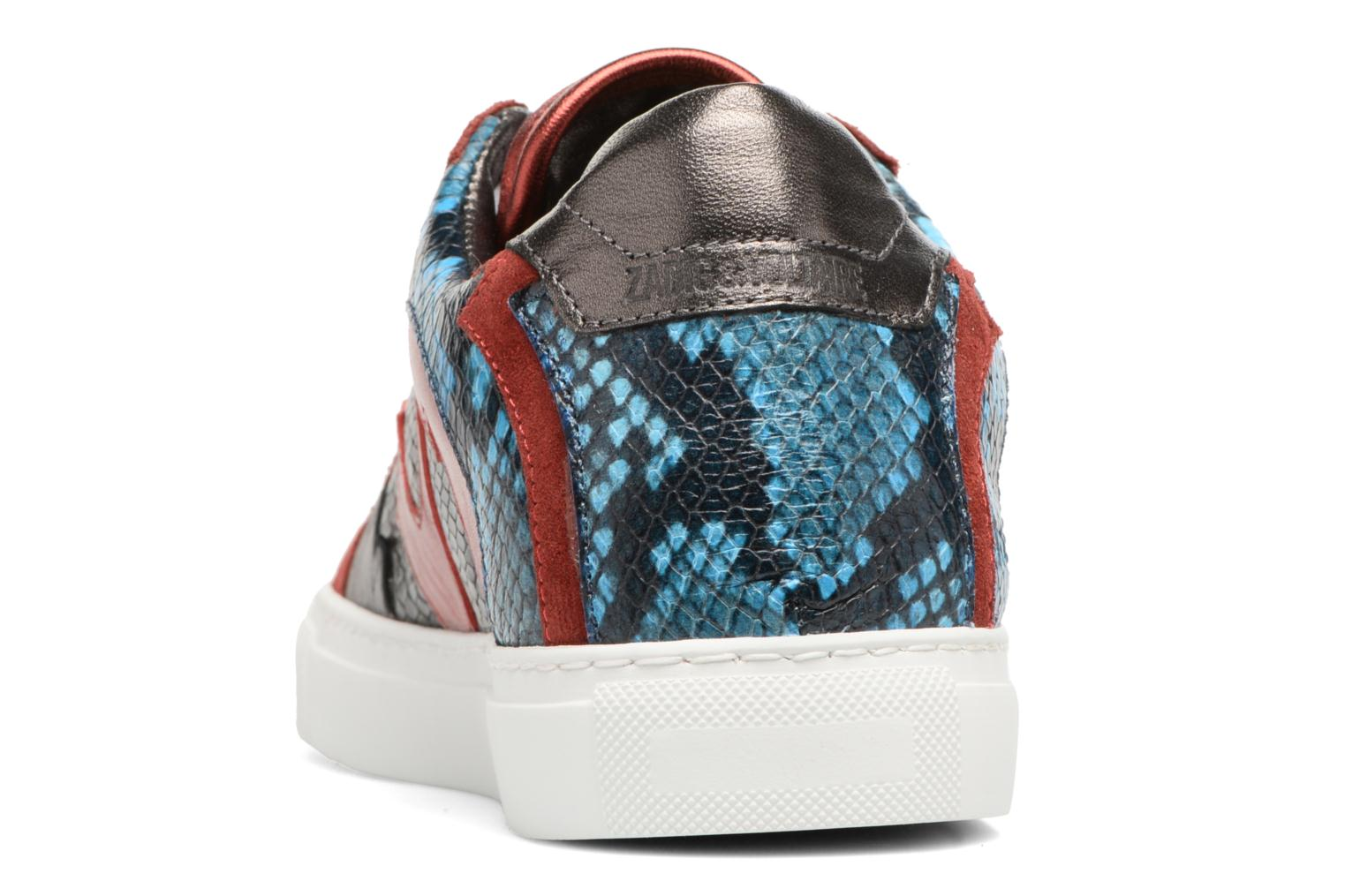 Trainers Zadig & Voltaire NASH TONE Red view from the right