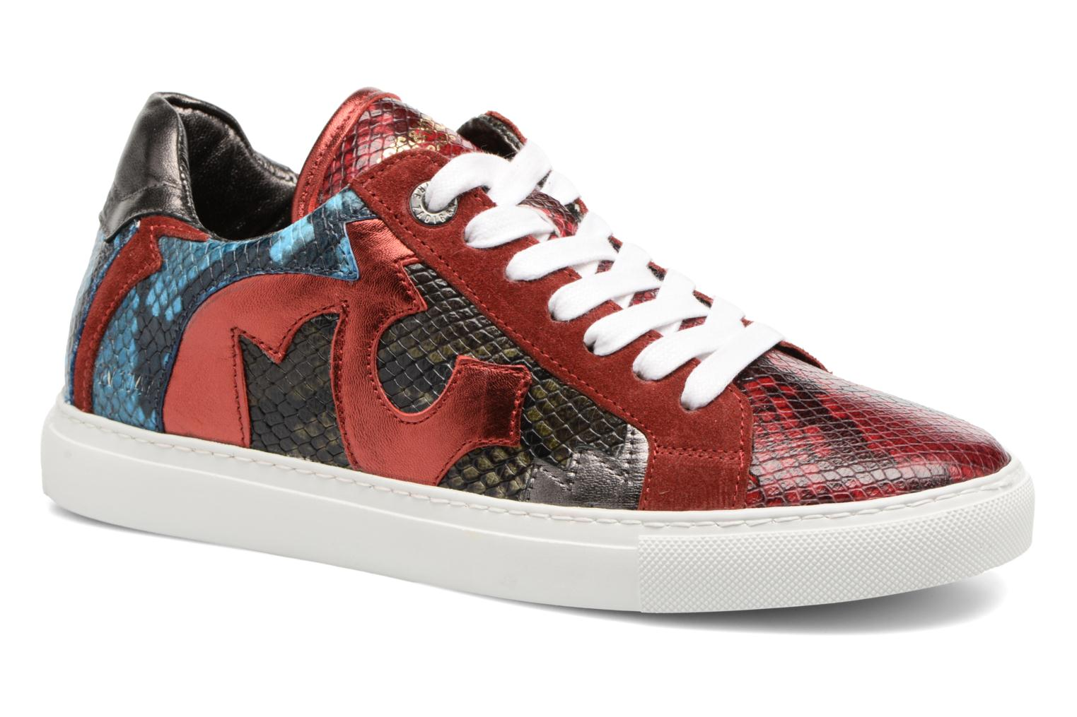 Trainers Zadig & Voltaire NASH TONE Red detailed view/ Pair view
