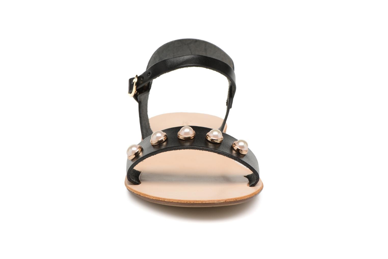 Sandales et nu-pieds Georgia Rose Docultura Noir vue portées chaussures