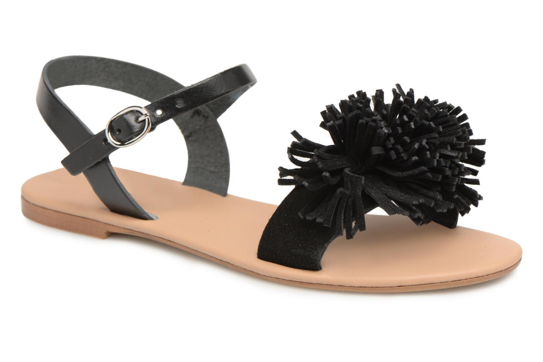 Zapatos promocionales Georgia Rose Dopompon (Negro) - Sandalias   Descuento de la marca