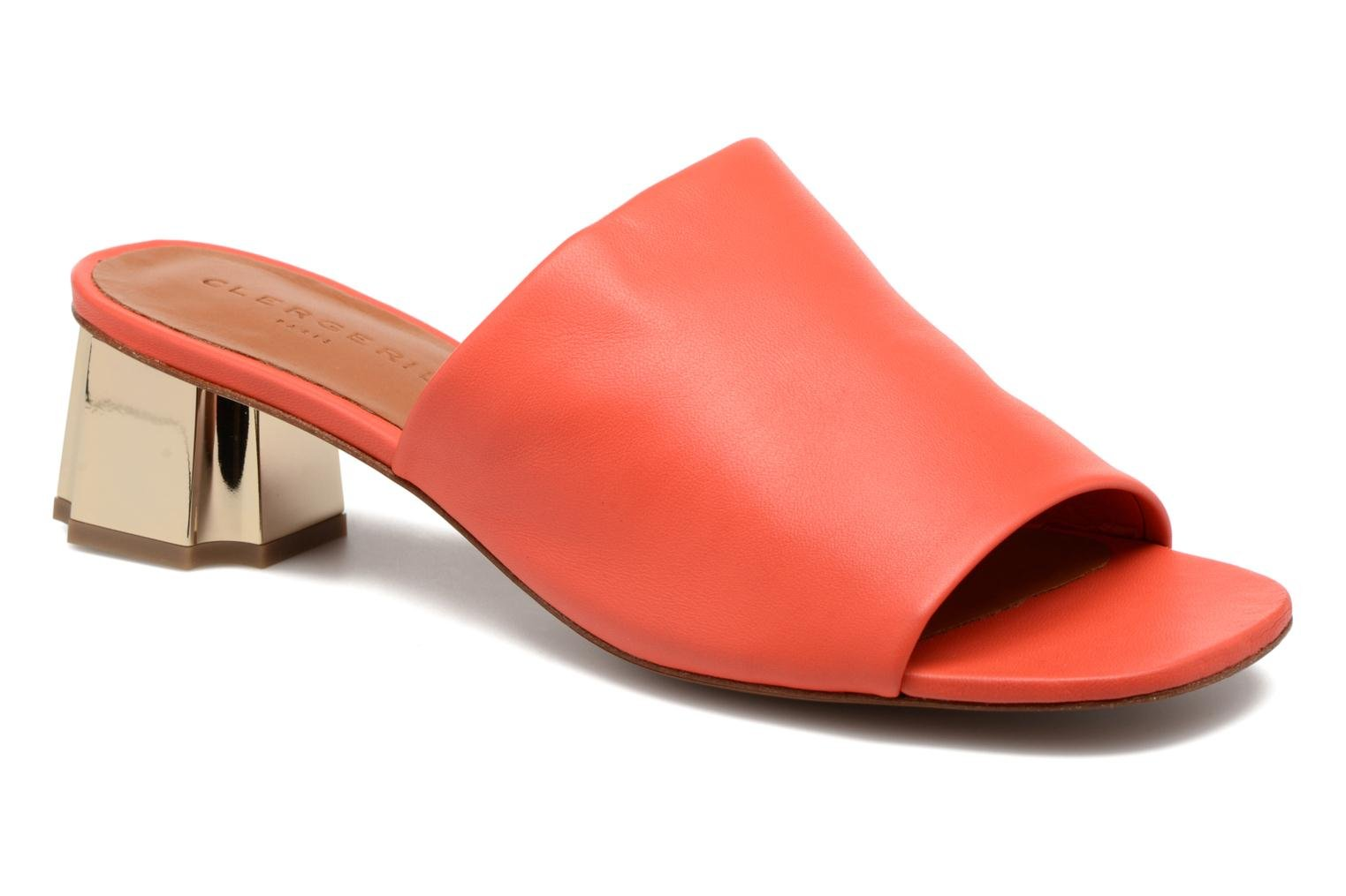 Wedges Clergerie LAMO Oranje detail