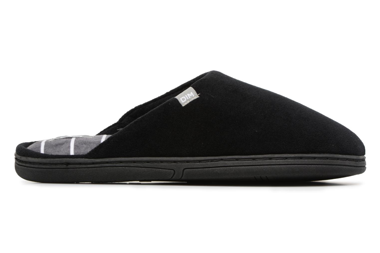 Pantoffels Dim D Goumis Zwart achterkant