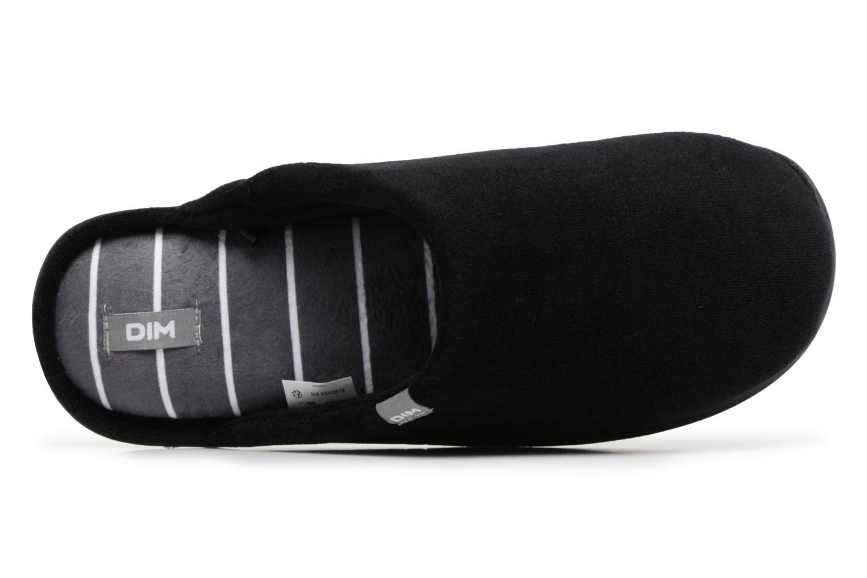Pantoffels Dim D Goumis Zwart links