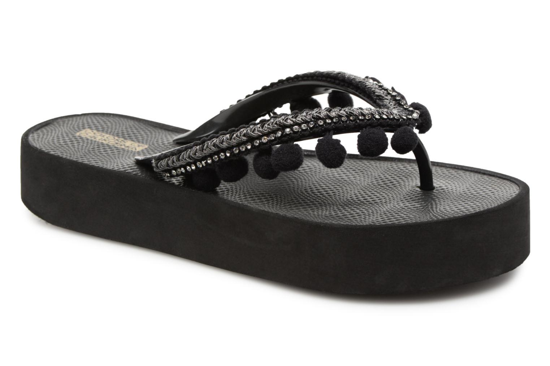 Zapatos promocionales Colors of California Euge (Negro) - Chanclas   Gran descuento