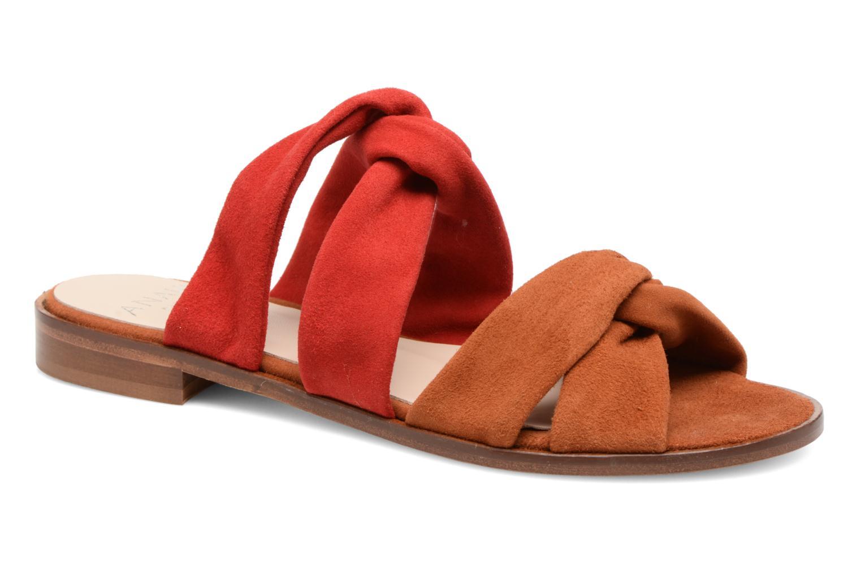 Zapatos promocionales Anaki VEGAS (Rojo) - Sandalias   Descuento de la marca