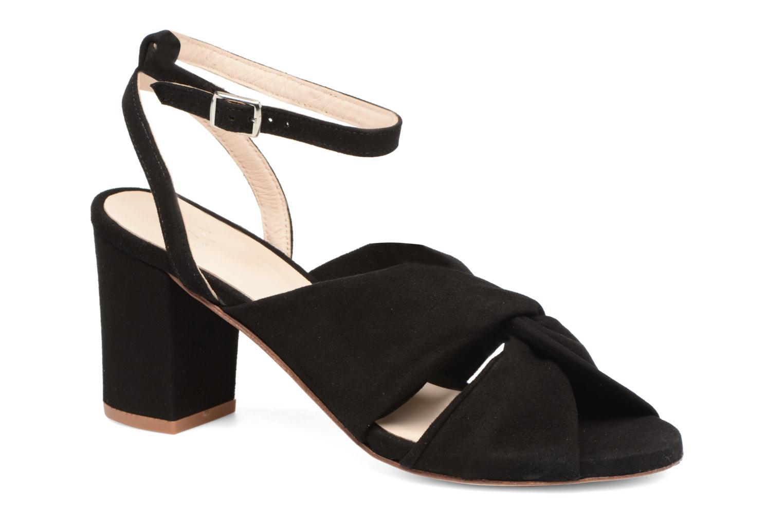 Cómodo y bien parecido Anaki JAZY (Negro) - Sandalias en Más cómodo