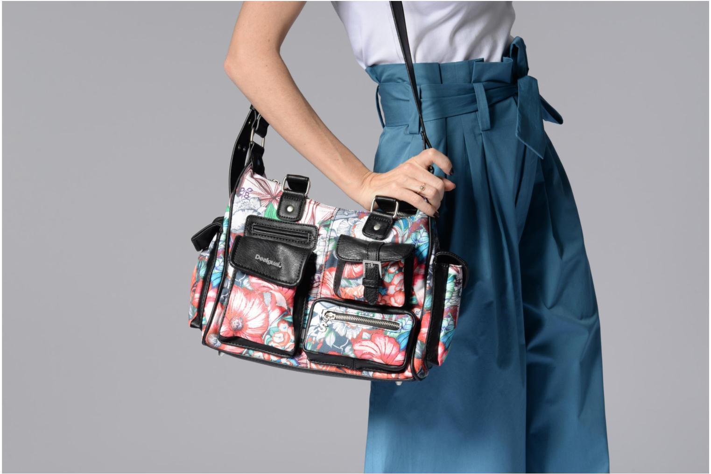 Handtaschen Desigual Yandi London Medium mehrfarbig ansicht von oben