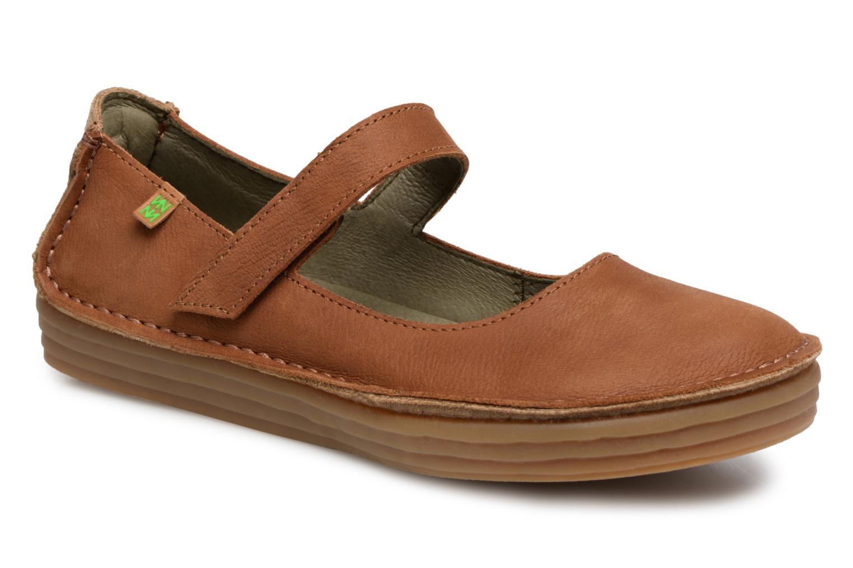 Grandes descuentos últimos zapatos El Naturalista Ricefied N5041 (Marrón) - Bailarinas Descuento