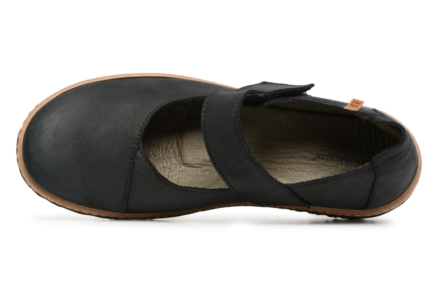 Ballet pumps El Naturalista Myth Yggdrasil N5135 Black view from the left