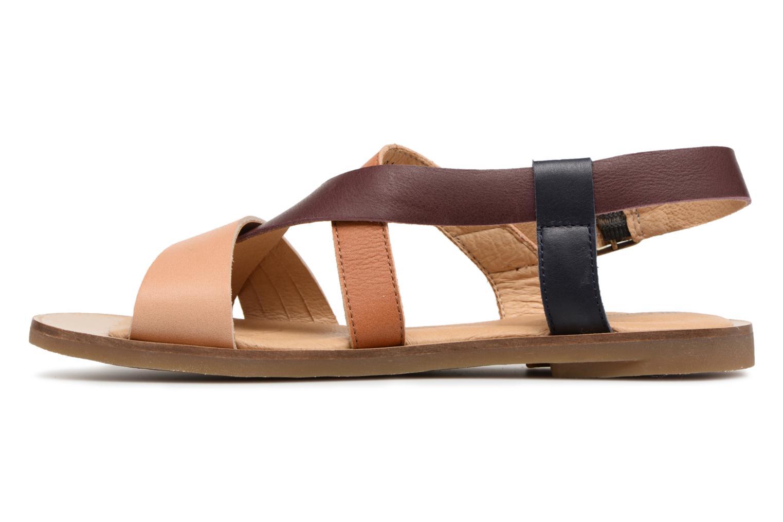 Zapatos especiales para hombres y mujeres El Naturalista Tulip N5181 (Marrón) - Sandalias en Más cómodo