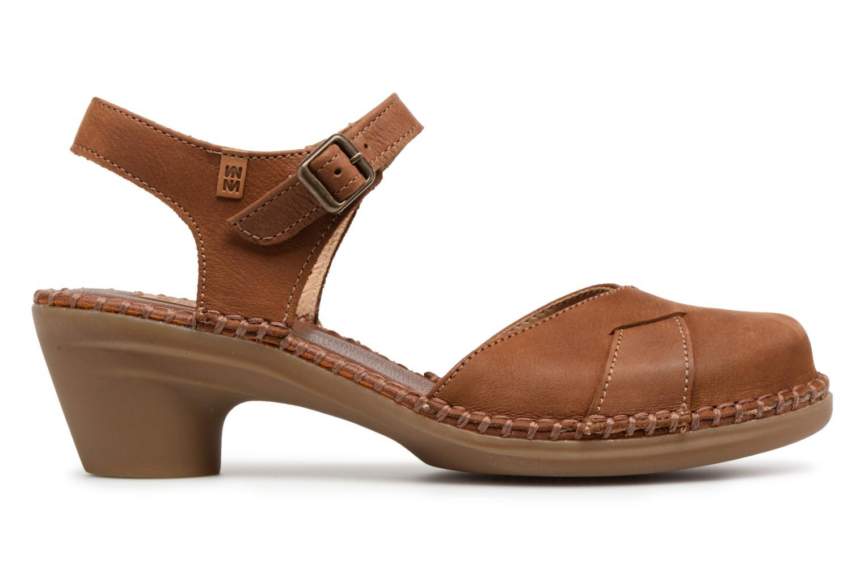 Sandales et nu-pieds El Naturalista Aqua N5324 Marron vue derrière