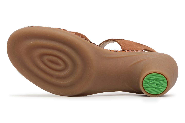Sandales et nu-pieds El Naturalista Aqua N5324 Marron vue haut