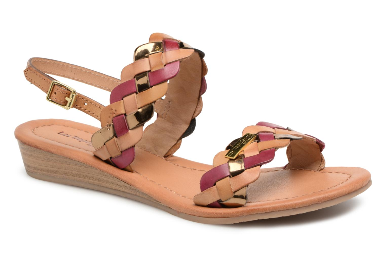 Zapatos promocionales Les Tropéziennes par M Belarbi Baiman (Rojo) - Sandalias   Casual salvaje
