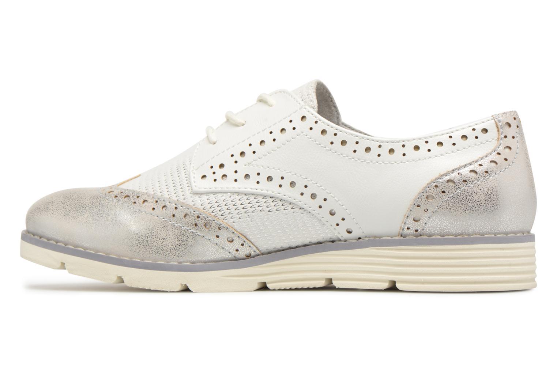 Chaussures à lacets S.Oliver Eliliane Blanc vue face