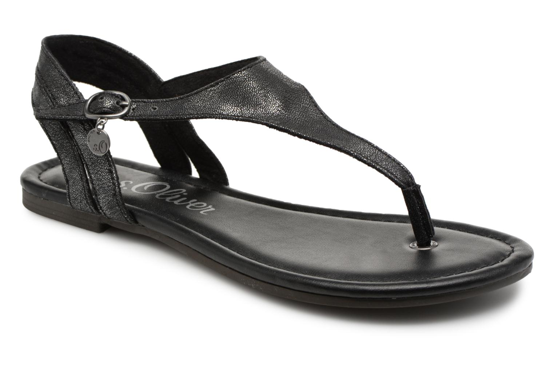 S.Oliver Taralia (Noir) - Sandales et nu-pieds chez Sarenza (315086)