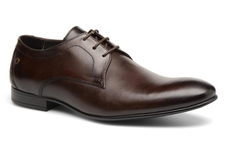 Base London Elgar (Marron) - Chaussures à lacets chez Sarenza (315121)