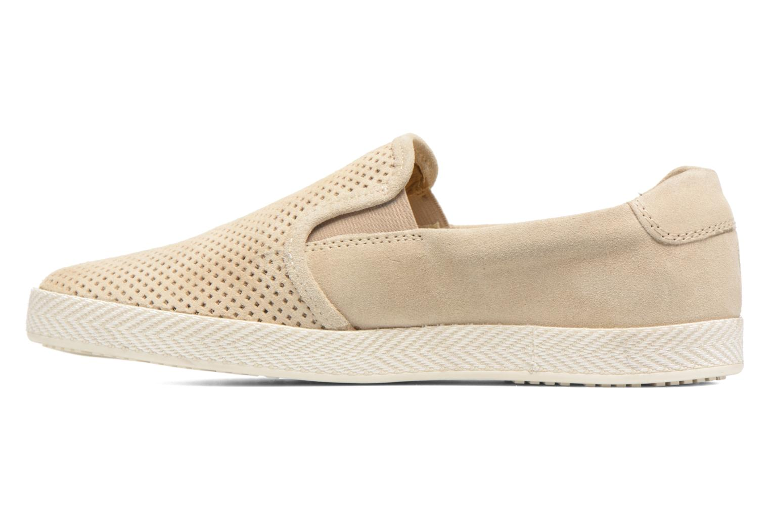 Loafers Base London Clipper Beige front view