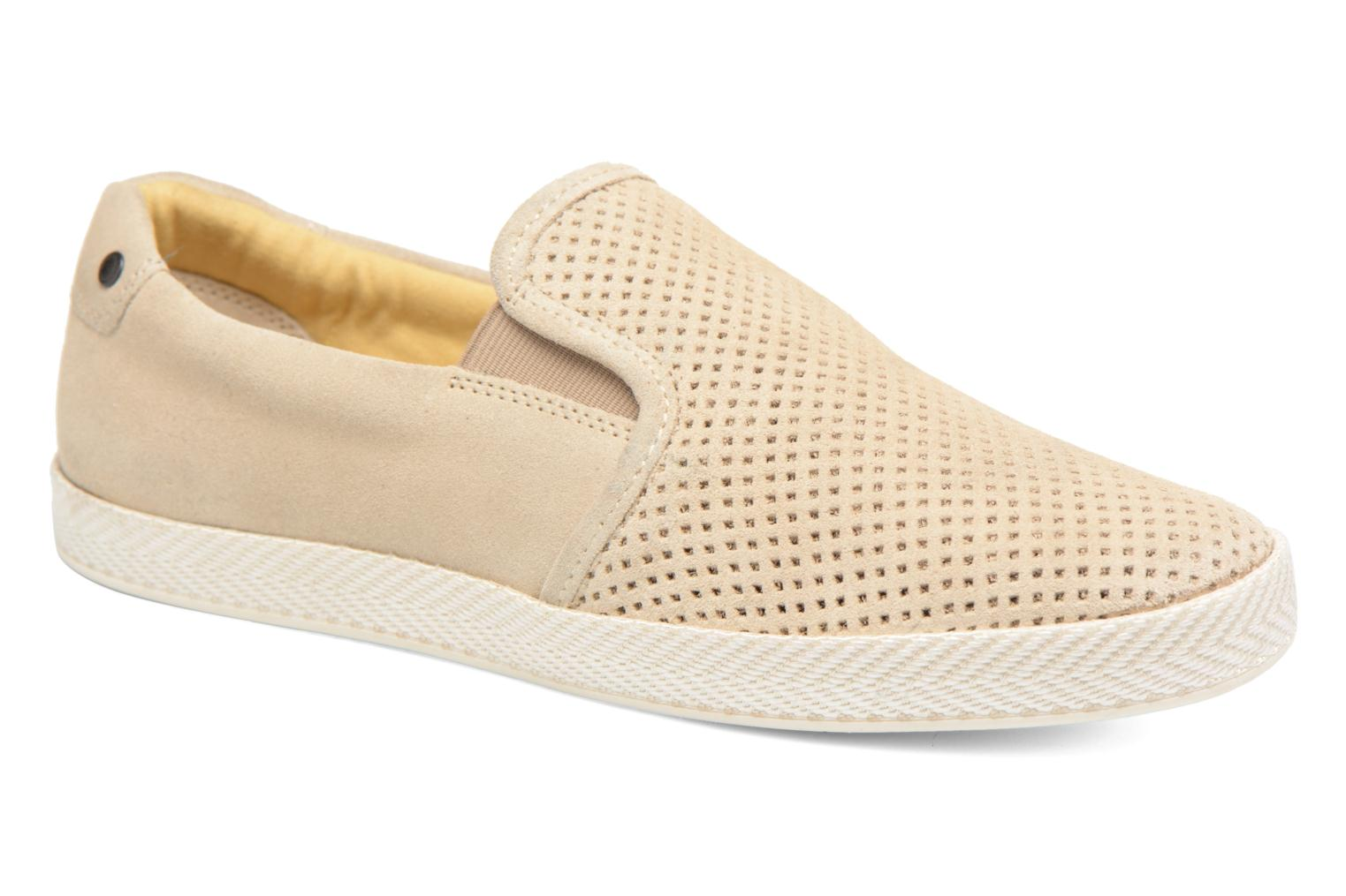 Marques Chaussure homme Base London homme Clipper Suede Beige