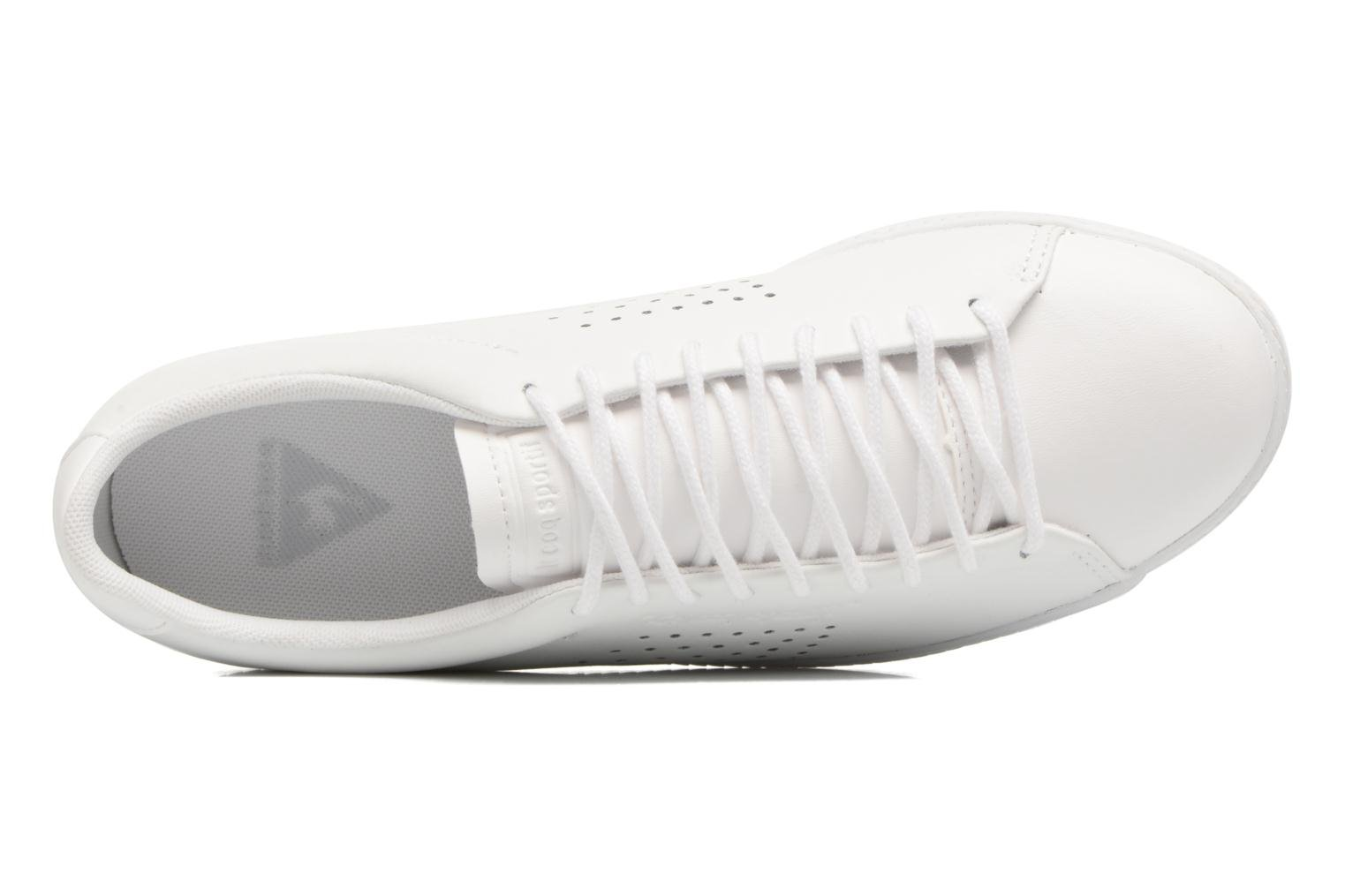 Deportivas Le Coq Sportif Charline Leather Blanco vista lateral izquierda