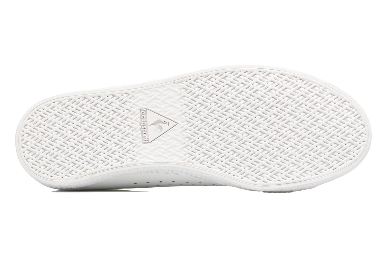Deportivas Le Coq Sportif Charline Leather Blanco vista de arriba