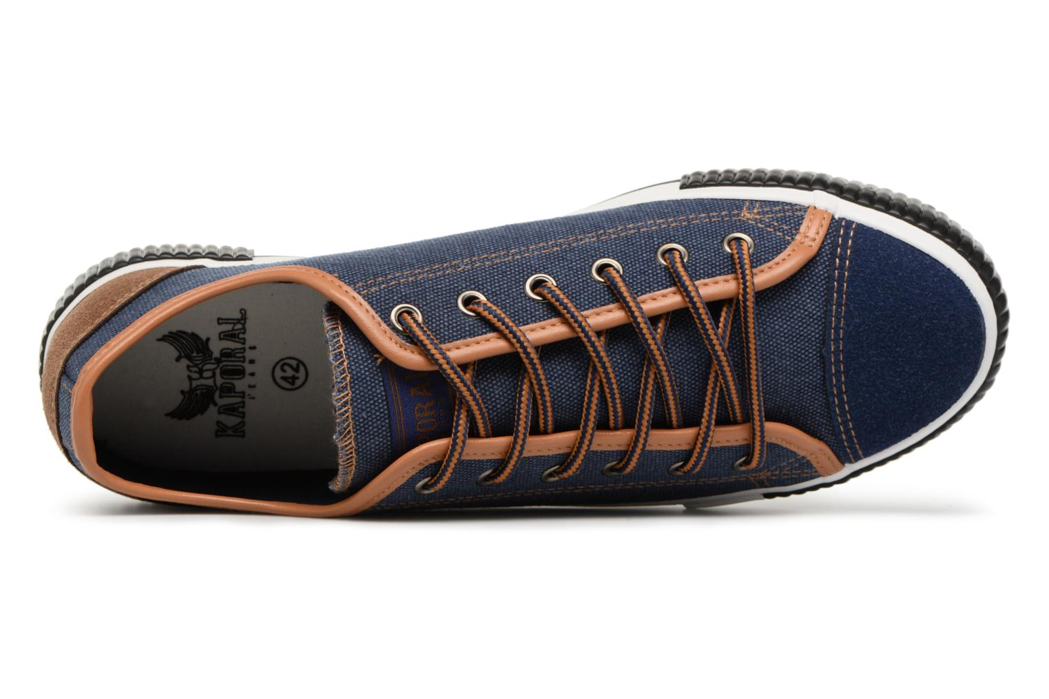Trainers Kaporal Dona Blue view from the left