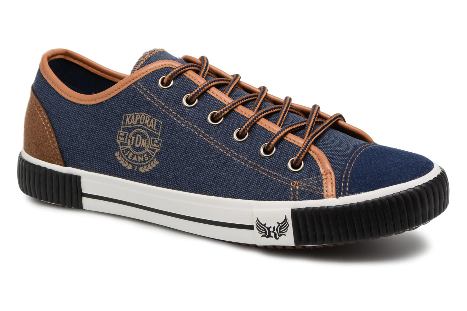 Trainers Kaporal Dona Blue detailed view/ Pair view