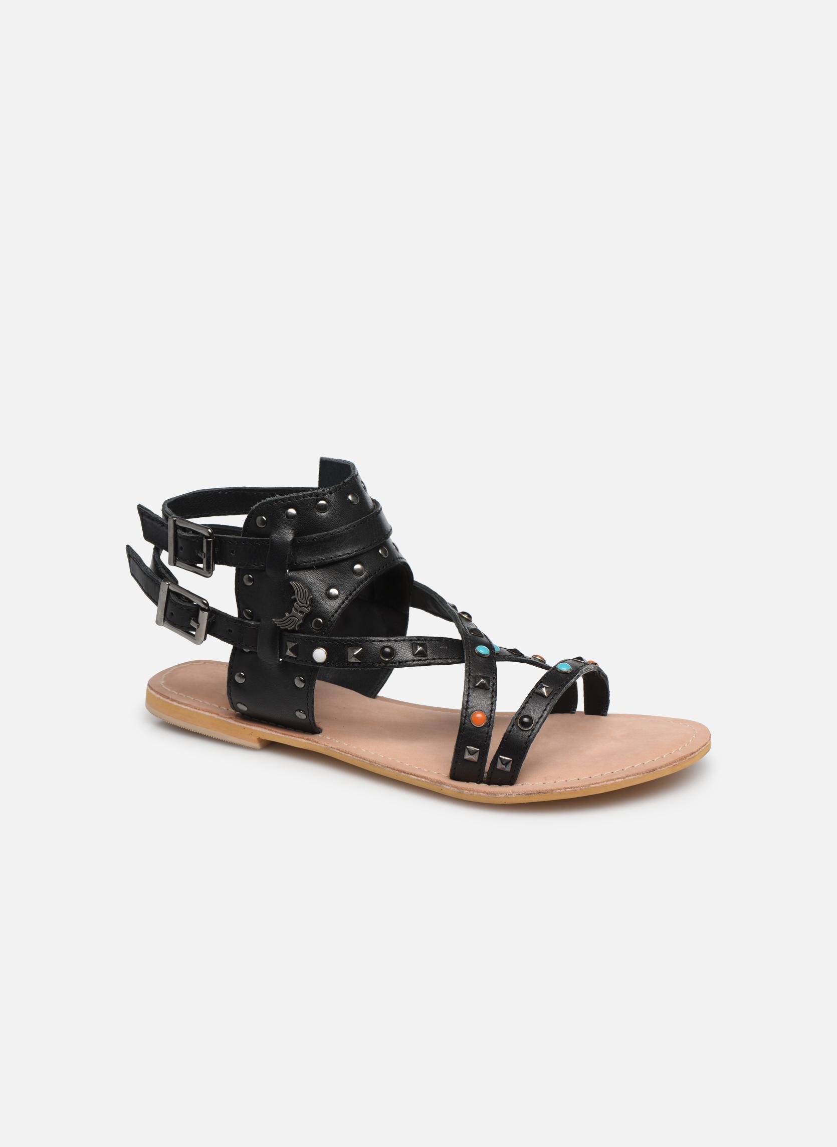 Grandes descuentos últimos - zapatos Kaporal Moore (Negro) - últimos Sandalias Descuento 566a77
