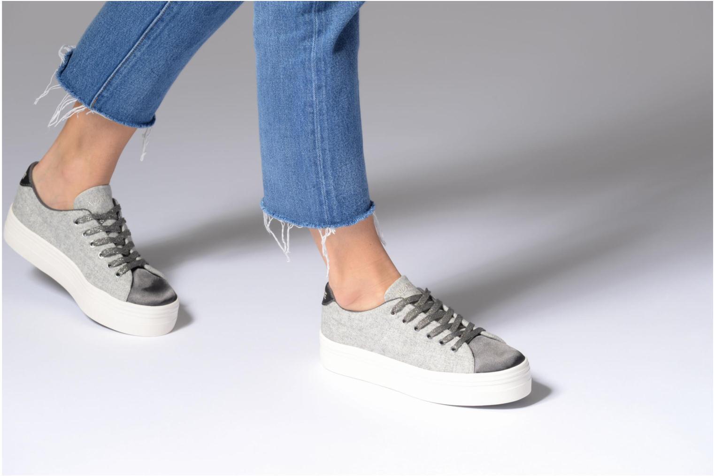 Sneakers No Name Plato Sneaker Beam/Cotton Rib Grijs onder