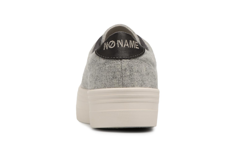 Sneakers No Name Plato Sneaker Beam/Cotton Rib Grijs rechts