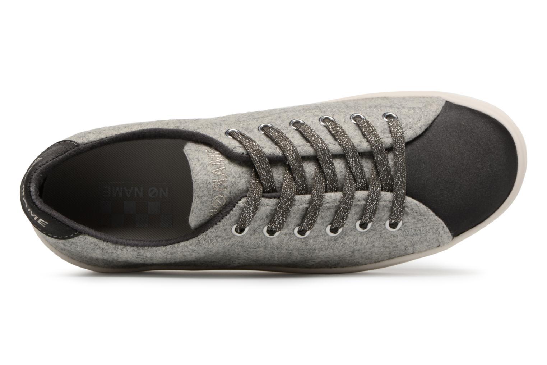Sneakers No Name Plato Sneaker Beam/Cotton Rib Grijs links