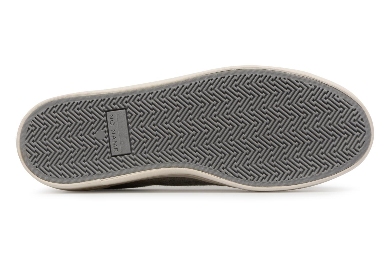 Sneakers No Name Plato Sneaker Beam/Cotton Rib Grijs boven