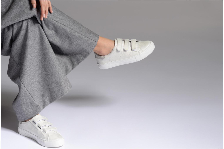 Baskets No Name Arcade Sneaker Straps Blanc vue bas / vue portée sac