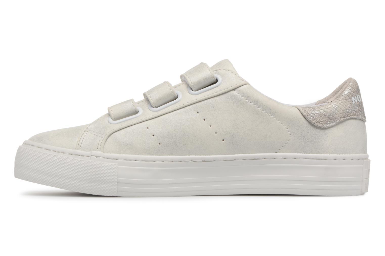 Baskets No Name Arcade Sneaker Straps Blanc vue face