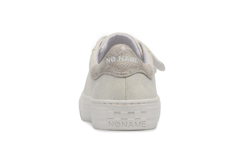 Baskets No Name Arcade Sneaker Straps Blanc vue droite