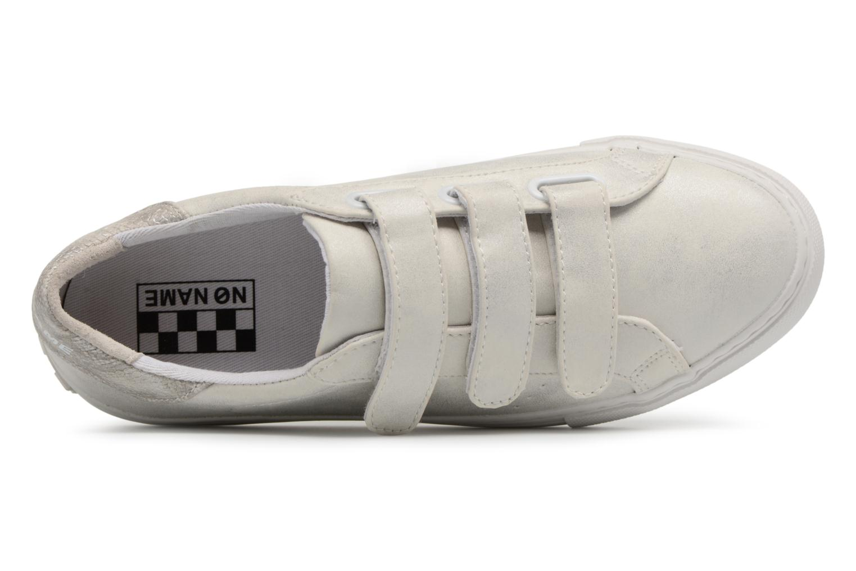Baskets No Name Arcade Sneaker Straps Blanc vue gauche