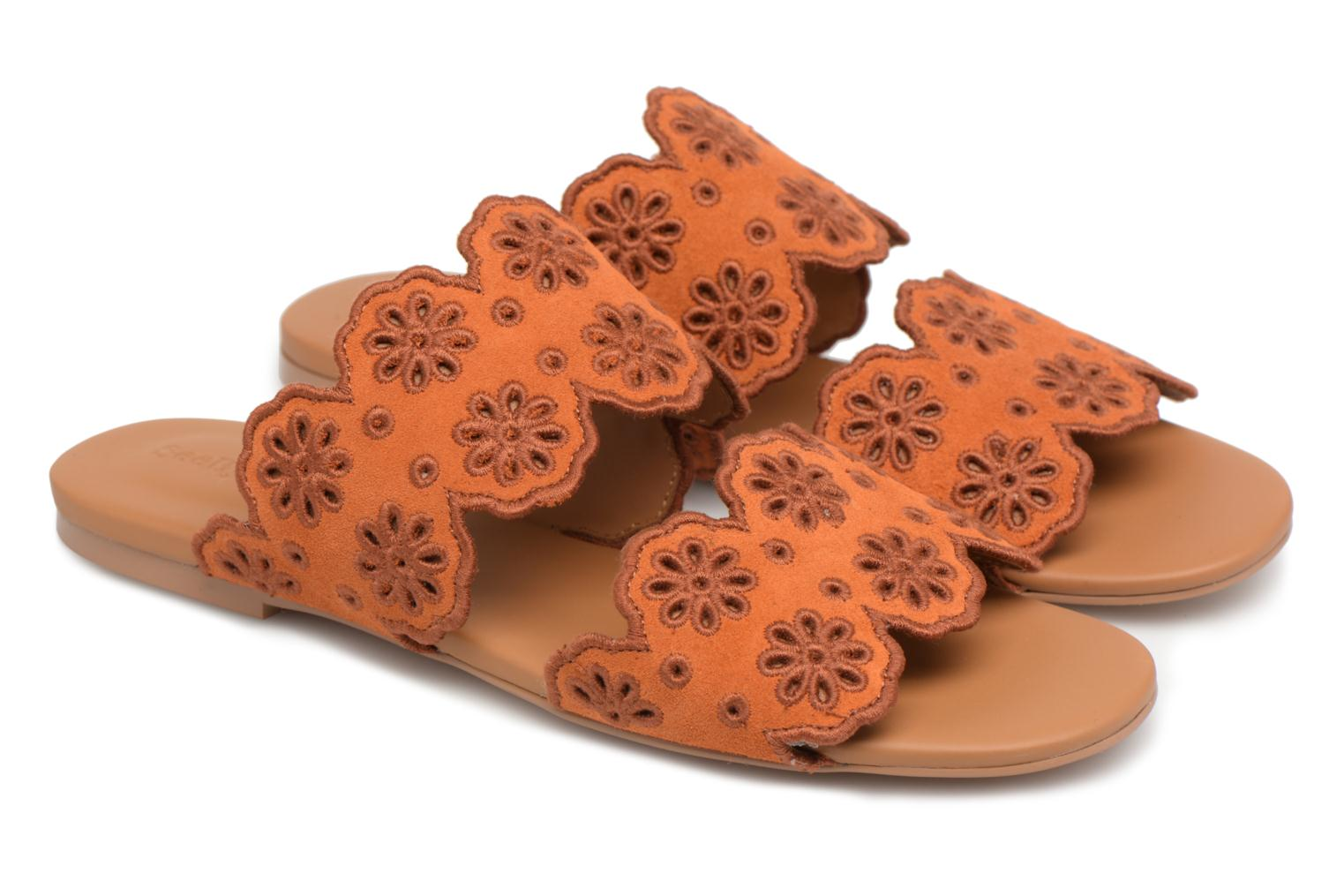Mules & clogs See by Chloé Valentina Orange 3/4 view