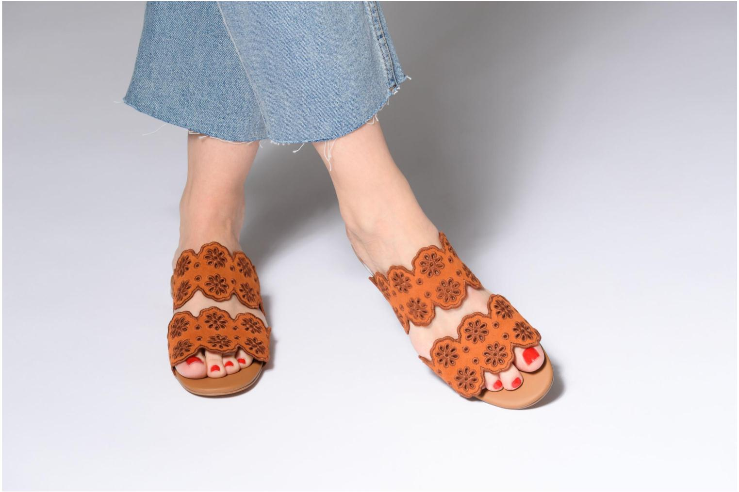 Mules & clogs See by Chloé Valentina Orange view from underneath / model view