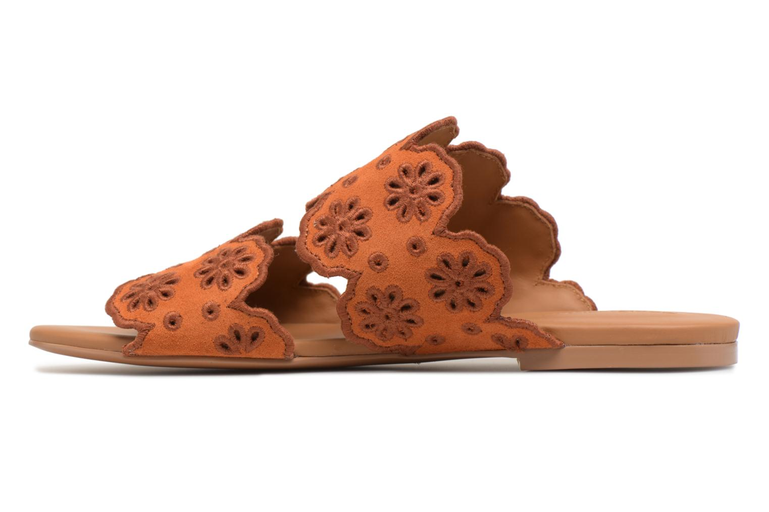 Mules & clogs See by Chloé Valentina Orange front view