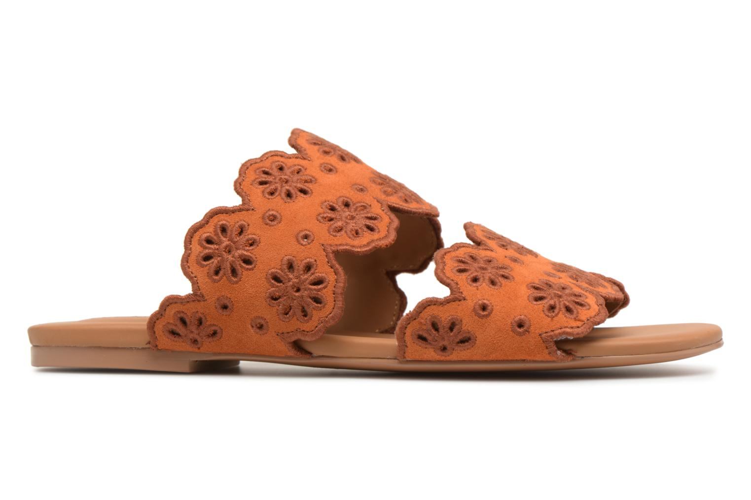 Mules & clogs See by Chloé Valentina Orange back view