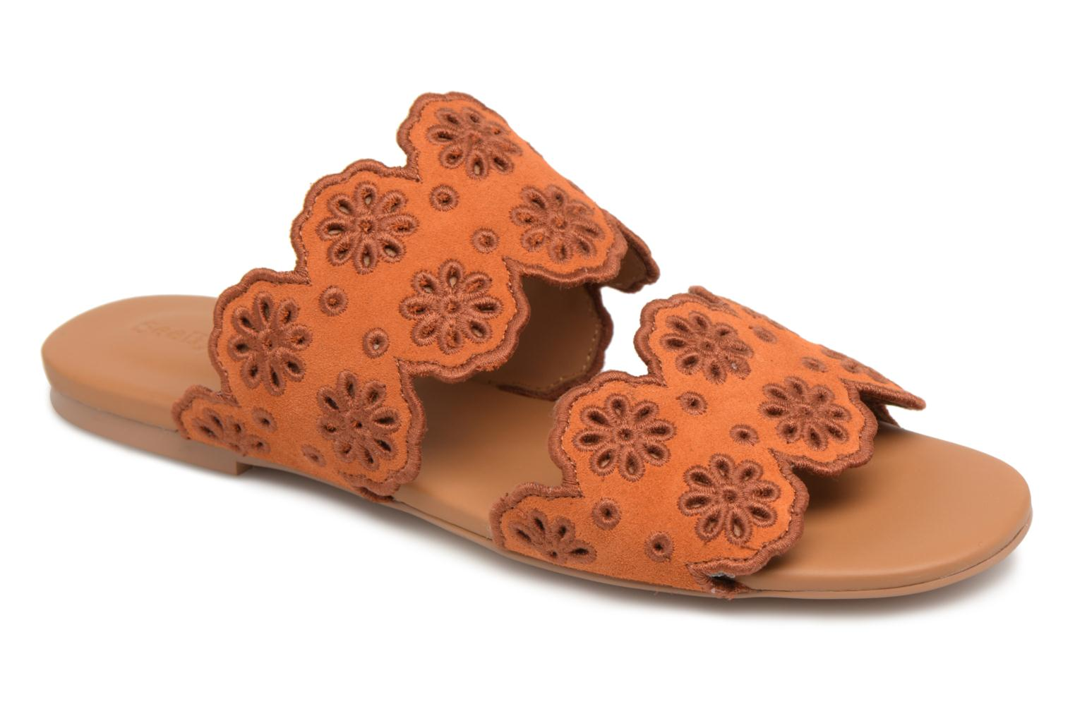 Mules & clogs See by Chloé Valentina Orange detailed view/ Pair view