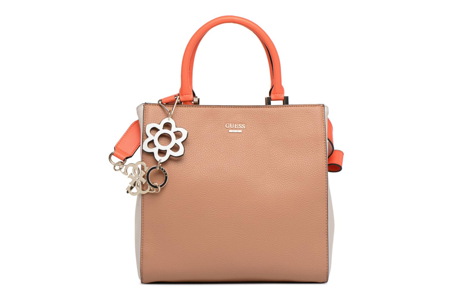 Handtassen Guess Dania Girlfriend Shopper Bruin detail